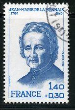 STAMP / TIMBRE FRANCE OBLITERE N° 2097 JEAN MARIE LE MENNAIS