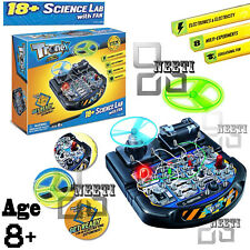 CHILDREN ELECTRONIC EDUCATIONAL 18+SCIENCE EXPERIMENT LAB TRONEX CIRCUIT TOY KIT