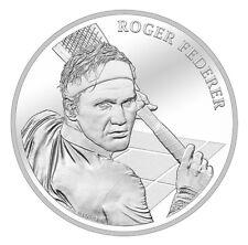 More details for roger federer silver coin switzerland swissmint chf 20 2020