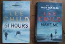 Lee Child- Two Books, Hardback  Book with DJ and Large Paperback