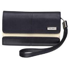 RIM HDW-18966-003 Leather Folio Pouch - Indigo For BlackBerry Storm 9500 9520
