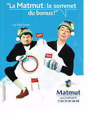 PUBLICITE ADVERTISING 104  2005  MATMUT  assurances CHEVALIER & LASPALES