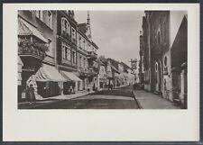 45896) AK Das alte Waren Lange Straße um 1935 Hotel Stadt Hamburg 1988