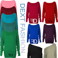Women's Thin Knit Scoop Neck Waist Length Jumpers & Cardigans