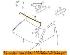 BMW OEM 95-01 750iL Windshield-Upper Molding Trim 51318125887