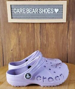 Crocs Baya Clog K 205483-530 Sandal TOODLERS Unisex Waterproof Purple SIZE C11