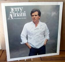 JERRY ADRIANI autograph LP record album Brazil signed Os Rebeldes vinyl 1970s