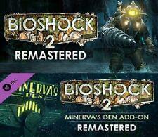 BioShock 2 + Bioshock 2 REMASTERED + BS2: Minerva's Den {DLC} (PC) [Steam]