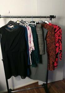 Womens Clothes Bundle Size 18 Midi Dress Knit Jumper Cardigan Top Skirt   M4N