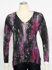 GUESS Majestic Multi Pullover Size XS V-Neck Women's Casual New $79 *