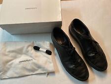 Common Projects Original Achilles Low Black Size EU 46 -1528 46 7547 - Box & Bag