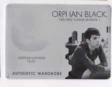 Cryptozoic Orphan Black season 1 printing plate of costume card M09