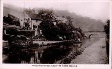 Marple. Ancoat's School Country Home in Grenville Series. Canal.