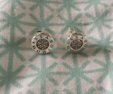 Genuine THOMAS SABO 925 Sterling Silver Clear CZ Cubic Zirconia Stud Earrings