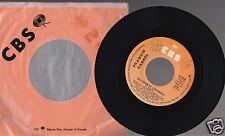 """FRANCIS CABREL Quelqu'un de L'interieur/L'enfant Qui Dort 45 RPM 7"""" CBS I5-7014"""
