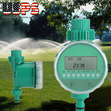 Automatic Water Outdoor Garden Irrigation Controller Hose Faucet Timer LCD US