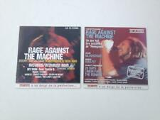 2 CD SAMPLERS RAGE AGAINST THE MACHINE from French hard rock magazines