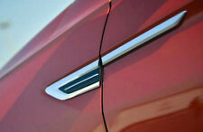 Chromed  Air Vent Hood Intake Fender Cover Trim for Volkswagen T-Roc 2017-2018