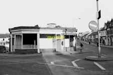 PHOTO  EMPTY SHOP UNITS AWAITING DEMOLITION COMMERCIAL ROAD SWINDON 1976