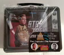 SIGNED WILLIAM SHATNER SDCC LIMITED  Star Trek Twilight Zone Capt. & Passenger