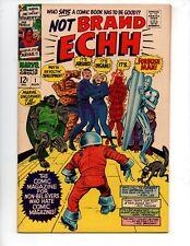 "Not Brand Echh #1 (Aug 1967, Marvel) VF+ 8.5 ""KIRBY-A(P)"""