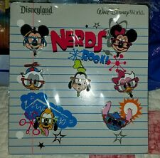 DISNEY NERDS ROCK Heads Booster set Mickey Mouse Donald Goofy & more FREE SHIP