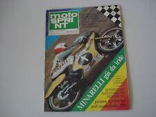 MOTOSPRINT 12/1978 PROVA TEST MOTO MORINI 250
