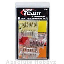 Team Associated 12mm Big Bore Front Shock Spring Kit (3) (Hard) ASC91343