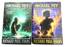 Lot of 2 MICHAEL VEY Series Books 3 and 5 by RICHARD PAUL EVANS (Signed) (Read)