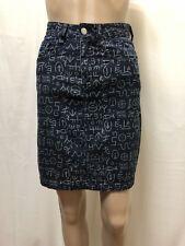 Gorman Skirt Womens ~ Sz 6 ~ Great Cond Egyptian Print High Waisted Style Denim