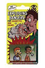 EXPLODING CIGARETTE BANGERS FAGS 10 TRICK PRACTICAL JOKE PRANK GAG NOVELTY FUNNY