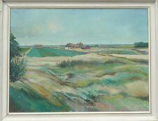 Granja en el norte de alemán paisaje -1961 fechado-firmado Gerhardt > 111,5x86