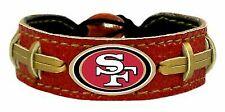 San Francisco 49ers Team Color Football Bracelet