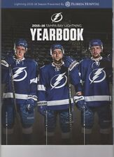 2015 2016 TAMPA BAY LIGHTNING YEARBOOK OFFICIAL NHL HEDMAN STANLEY CUP CHAMPS