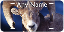 Sheep Ram Aluminum Any Name Personalized Car Auto Novelty License Plate