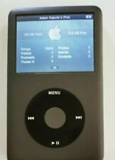 APPLE IPOD CLASSIC 7th GEN BLACK (160 GB) MC297LL WORKS GREAT NO ISSUES