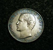 3 Mark - Bayern - 1911 - D - König Otto - Echte alte Münze - (C1N159)