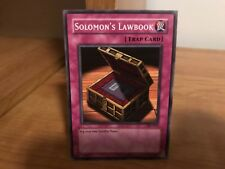 Yu-Gi-Oh! Card Solomon's Lawbook PSV-013 in Good Condition!