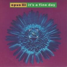 "Opus III It's A Fine Day 45t 7"" france french pressing"