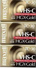 VHS-C Aufnahmemedien