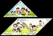 Yes To Life No To Drugs Malaysia 2012 Cartoon Family (stamp) MNH *odd *unusual