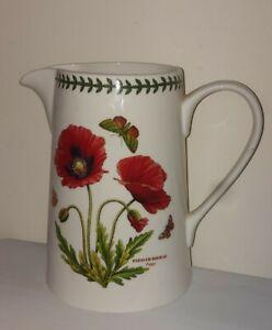 """Portmeirion Jug Botanic Garden Poppy Limited Edt 3000 8"""""""