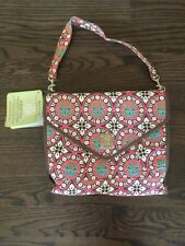 Bella Tunno Parent Pod Pink And Brown Diaper Bag New with Tags