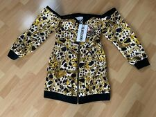 Moschino H&M H&MOSCHINO Kleid Dress Off Shoulder Chain Ketten EUR 34 US 2 UK 6