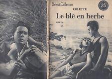 C1 COLETTE Le BLE EN HERBE Couvertures ILLUSTREES