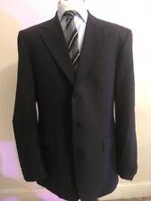 HUGO BOSS ANGELICO/PARMA Virgin WOOL MENS Suit Size UK 42L/ EU 106- W36L / EU106