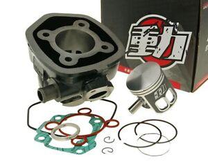Kit cylindre 70cc NARAKU Minarelli LC pour MBK Nitro 50cc, Naked, YAMAHA Aerox