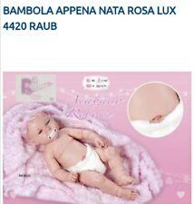 Bambola reborn neonato