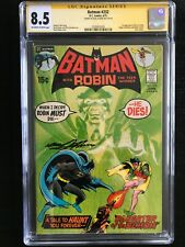 Batman 232 CGC 8.5! Signed by Neal Adams!  First R'as al Ghul!!!