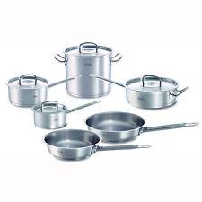 Fissler 10 pc Original Profi Stainless Steel Cookware Set